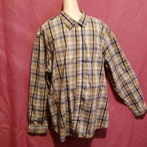 New Simply Styled Mens Button Front Shirt
